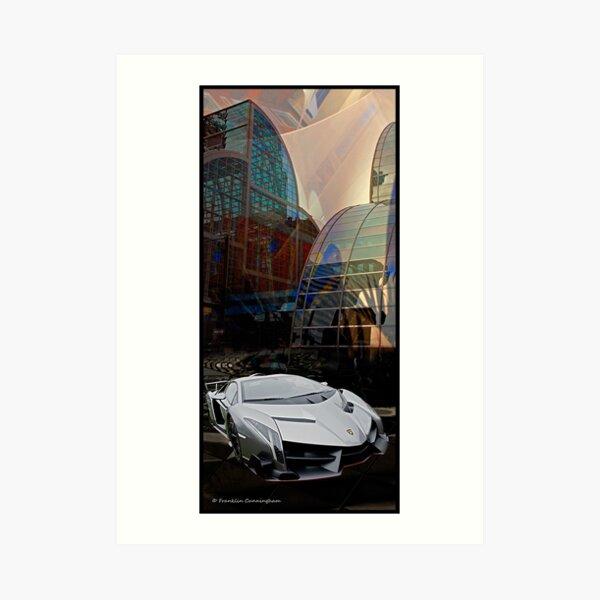 Super Car Art #11  Art Print