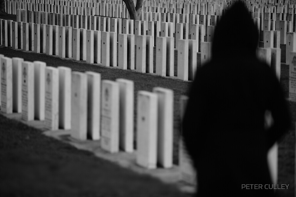 Lest we forget... by PETER CULLEY