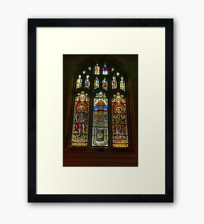 St Michael's Church - Coxwold,North Yorkshire. Framed Print