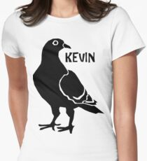 Kevin the Pigeon Women's Fitted T-Shirt