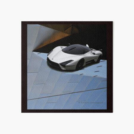 Super Car Art #12 Future Cars Art Board Print