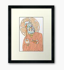 Saint C Framed Print