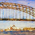 Sydney Harbor Bridge by Penny Alexander