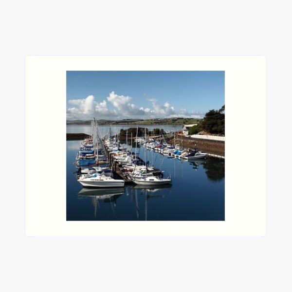 Newhaven Marina in Daylight Art Print