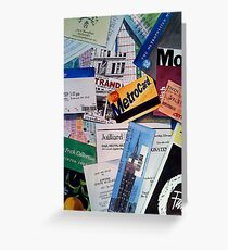 New York City Souvenir Collage Greeting Card