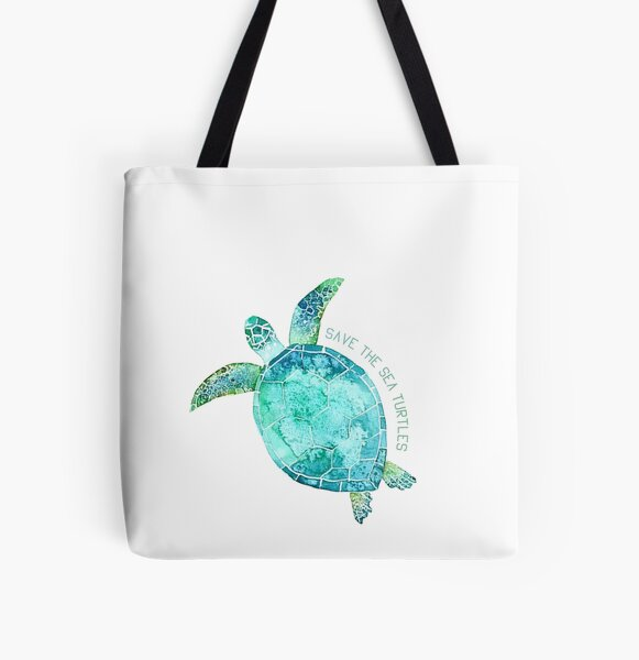 Save them All Over Print Tote Bag