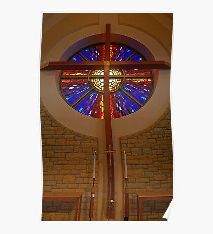 Christ's Window Poster