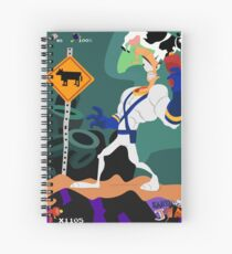 EarthWorm Jim Spiral Notebook