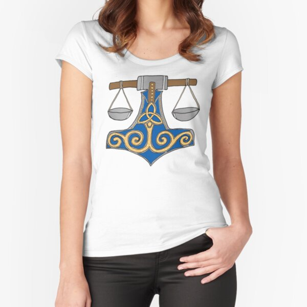 Libra Fitted Scoop T-Shirt
