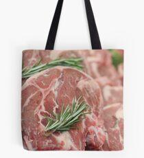 Raw Chops Tote Bag