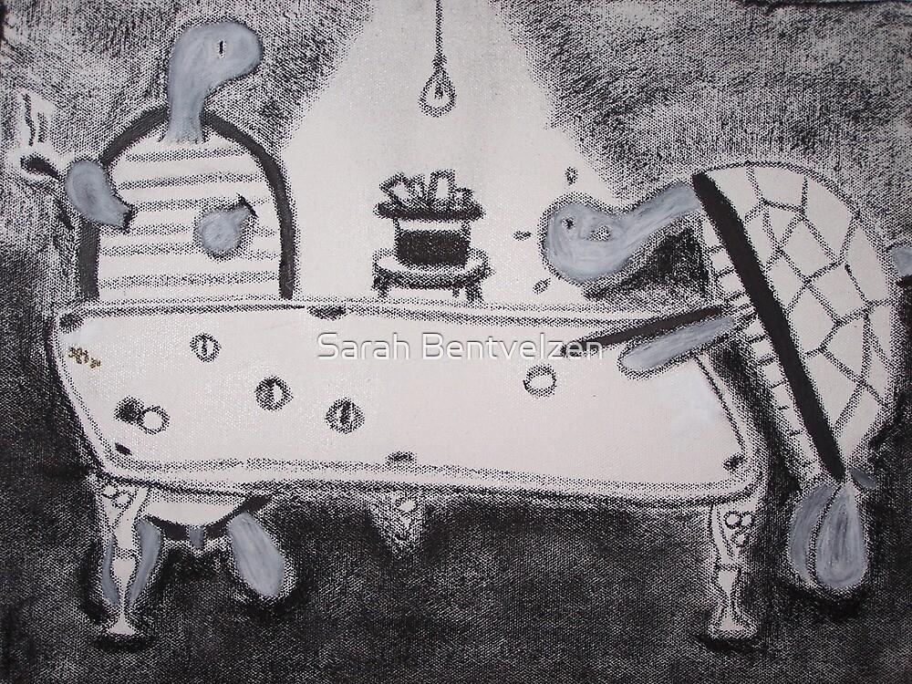 Turtles Playing Pool by Sarah Bentvelzen