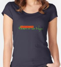 Heaven or Las Vegas Women's Fitted Scoop T-Shirt