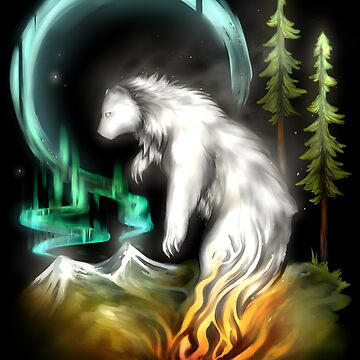 Spirit Bear by Xeanatavara