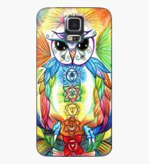 Chakra Owl-Yoga Owl by Sheridon Rayment Case/Skin for Samsung Galaxy
