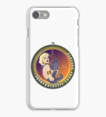 Intergalactic Laser Society - Laser Girl Patch iPhone Case/Skin