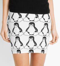 Tux Mini Skirt