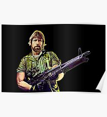 Chuck Norris Soldier Poster