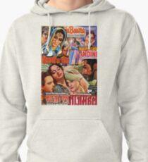 Vintage Bollywood Pattern 2 Pullover Hoodie