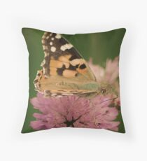 Beauty of Monarch Butterfly  Throw Pillow