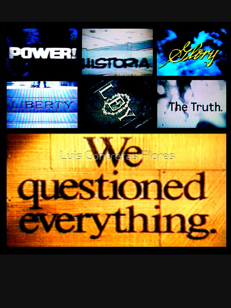 We Questioned Everything de luiscontreras