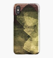 Modern abstract painting art design iPhone Case