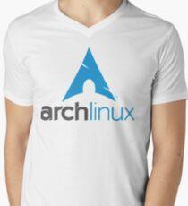 Arch Linux Men's V-Neck T-Shirt