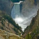 Yellowstone Falls by Linda Sparks