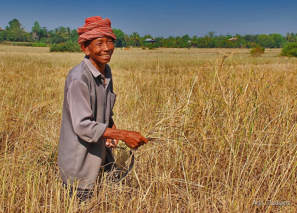 Rice Farmer by Adri  Padmos