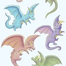 Dragons by Louise Rabey