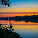 Dawn Over Hudson River   Albany, New York by © Sophie W. Smith
