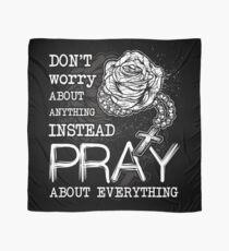 Rosary pray Scarf