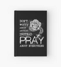 Rosary pray Hardcover Journal