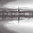 Mirror reflection of Stockholm  007 14 0718 by algirdasdesign
