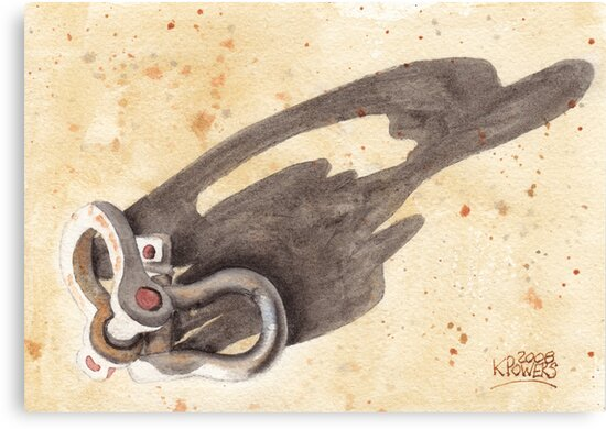 Shackles with Five O'Clock Shadow by Ken Powers