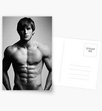 Hugo torso Postcards