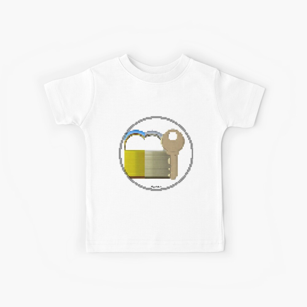 Pixiilated Key 999 by RootCat Kids T-Shirt