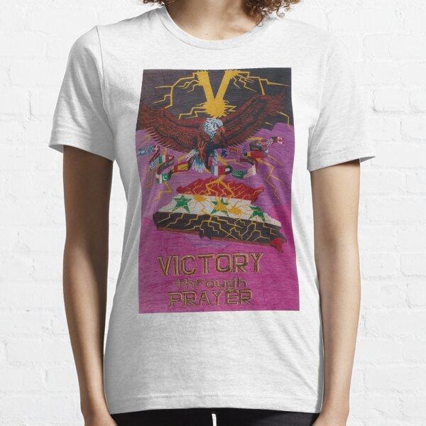 Victory Through Prayer Essential T-Shirt