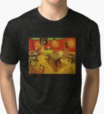 The Night Café - Vincent Van Gogh Tri-blend T-Shirt