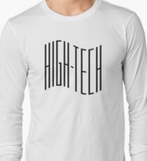 High - Tech Black Wave Long Sleeve T-Shirt