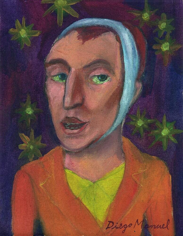 Van Gogh portrait by Diego Manuel Rodriguez