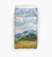 Funda nórdica Campo de trigo con cipreses - Vincent Van Gogh
