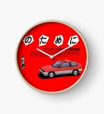 HONDA CR-X Clock