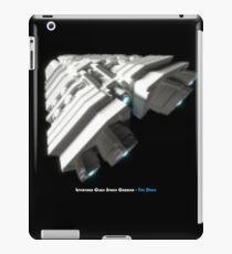 8 Bit Pixel Spaceship Leviathan Class Space Carrier - The Duke iPad Case/Skin