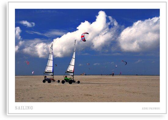 Sailing by Adri  Padmos