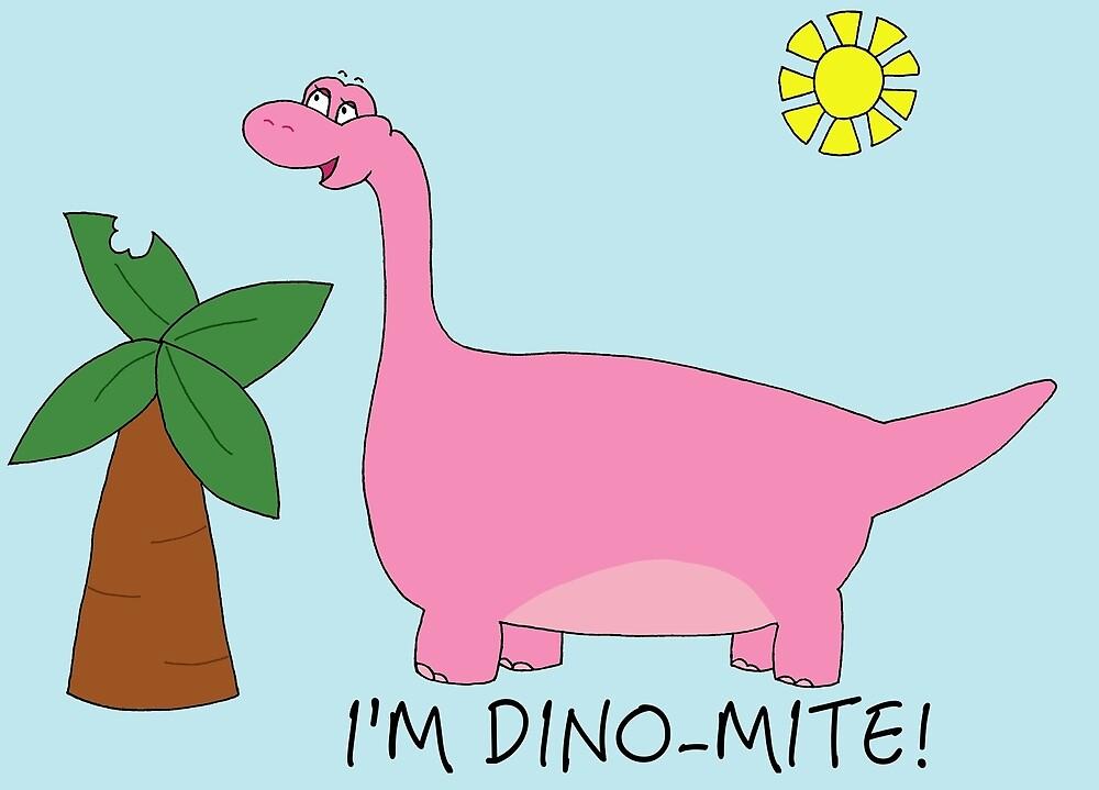 I'm dino-mite! by PinkDinosaur