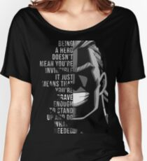 My Hero, All Might Women's Relaxed Fit T-Shirt