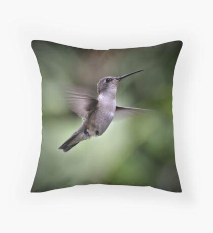 Hummingbird I Throw Pillow