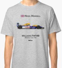 Formula 1 - Nigel Mansell - Williams Renault FW14B Classic T-Shirt