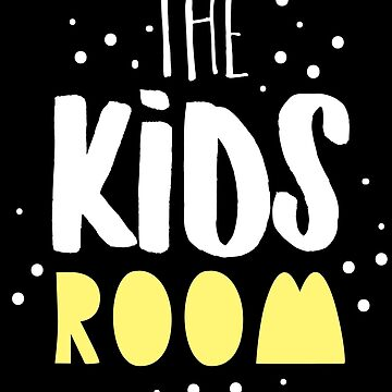 THE KIDS ROOM (awesome designer sign for a play room) by jazzydevil