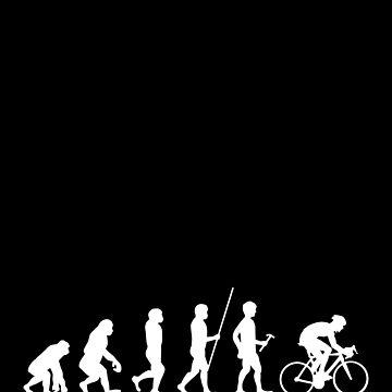 Bicycle Evolution T Shirt Funny Bicycle T Shirt Sayings Triathlon T Shirt Cycling T Shirt Mountain Bike T Shirt Funny Biking Tee by theodoros20
